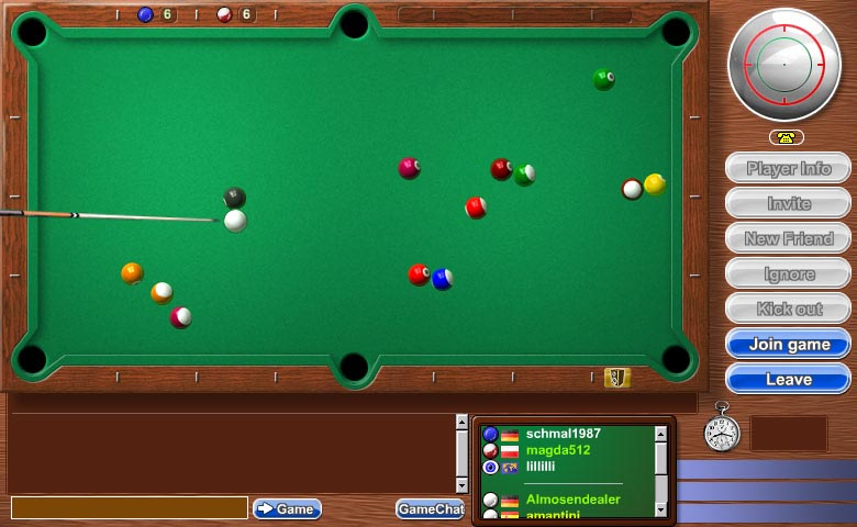 8 Ball Pool  A free Sports Game  Games at Miniclipcom