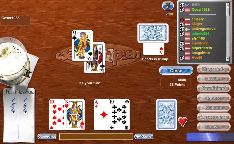 igre s kartami šnops