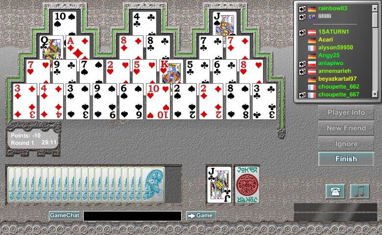 bisca online 4 jogadores