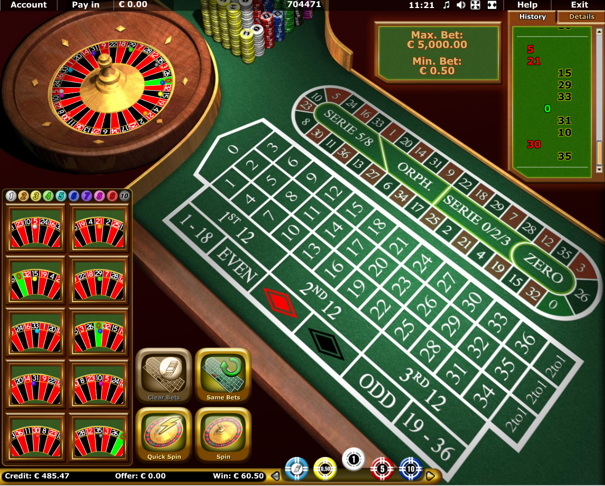 StarGames Roulette Online Games | Play NOW! | StarGames Casino